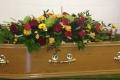 Coffin tribute