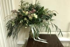 Flamboyant large bride bouquet