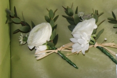 Spring buttonhole with rununculus