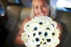 All anemone bouquet