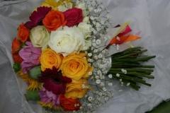 Multi colour bouquets